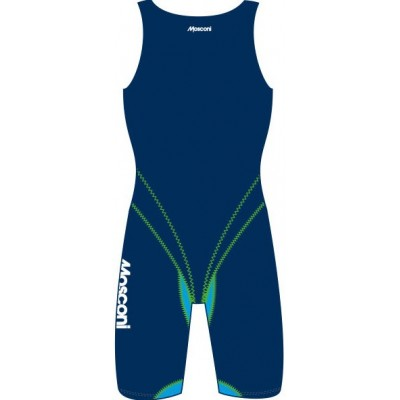 MOSCONI GEEP MED womens competition kneesuits blue / light blue FINA