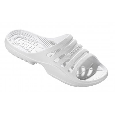 BECO SLIPPER women's water shoes from E.V.A. material white