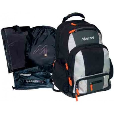 Mosconi HYDRO BACKPACK practical 50L backpack even for swimmers